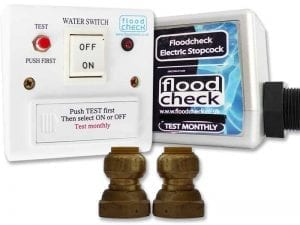 Floodcheck Electric/Battery Stopcock